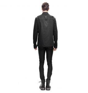 Pantalon Skinny 'Robot Armor' Noir pour Hommes