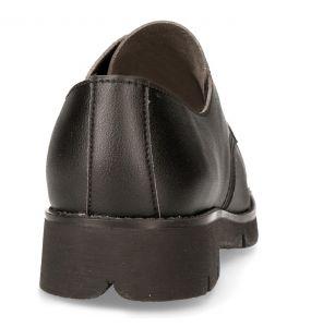 Black Vegan Leather New Rock Shoes