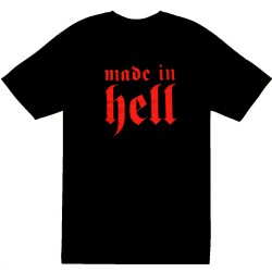T-Shirt Bébé 'Made in Hell'
