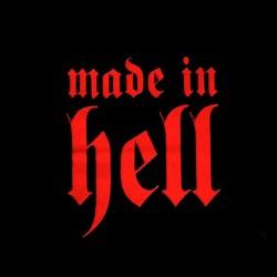 T-Shirt Bébé 'Made in Hell'