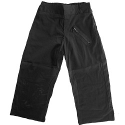 'Black Zip' Kids Pants