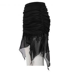 Black 'Willow' Beach Skirt