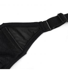 Black 'Bat Shaped' Bikini