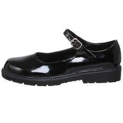 Black Patent Children Shoes
