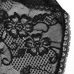 Black 'Ladouceur' Gothic Hooded Long Dress