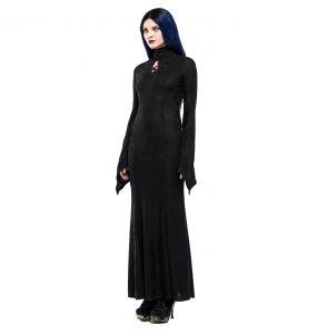 Black 'Mina' Long Dress