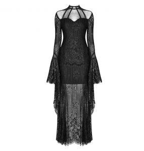 Robe 'Dark Nympha' Noire