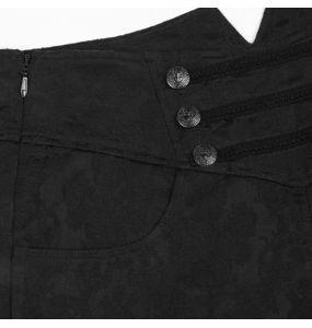 Black Brocade 'Vampyr' Pants