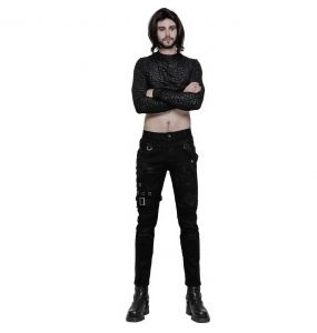Pantalon Vintage 'Nazgul' Noir