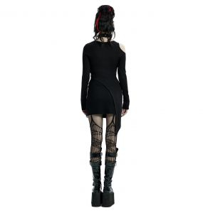 Black 'Elsinore' Mini Dress