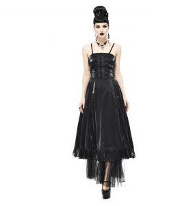Robe Gothique 'Narcissa' Noire