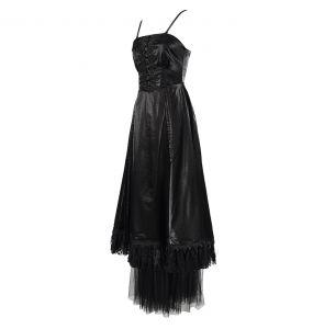 Black 'Narcissa' Gothic Dress