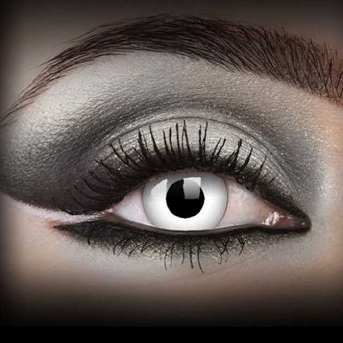 'White Witch' Contact Lenses