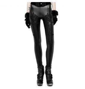 Leggings 'Soiree Gothic' Noir