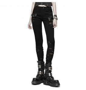 Black 'Destruction Unit' Pants