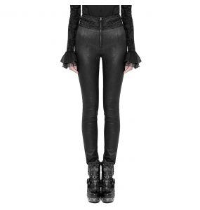 Pantalon Gothique 'Black Soiree' Noir