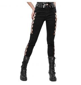 Pantalon 'Kera' Noir