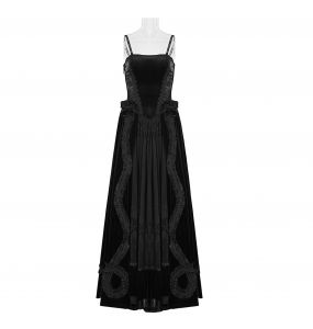 Black 'Lady Amaranth' Dress