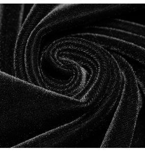 Longue Robe Gothique 'Princessa' Noire