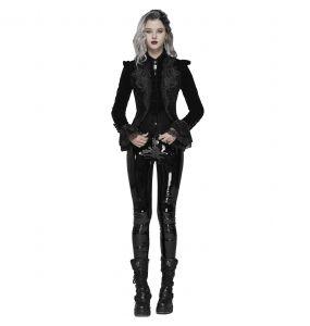 Black Gothic 'Alluria' Velvet Jacket