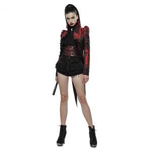 Veste Queue de Pie 'Versailles' Rouge et Noire