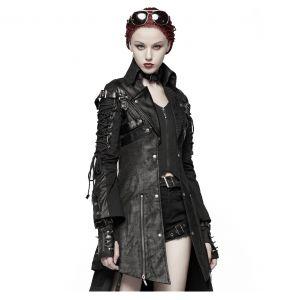 Veste Femme 'Poisonblack' Noire