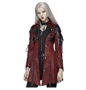 Veste Femme 'Poisonblack' Rouge