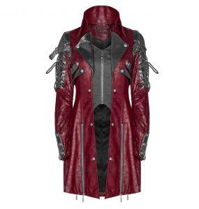 Red 'Poisonblack' Female Jacket