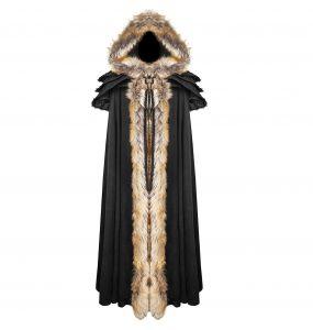 'Black Foxa' Women's Long Cape
