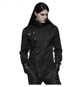 Black 'Sinamore' Brocade Shirt
