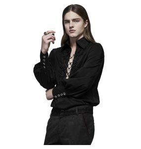 Black 'Royal Vampire' Shirt