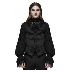Gilet Gothique 'NightDreamer' Noir
