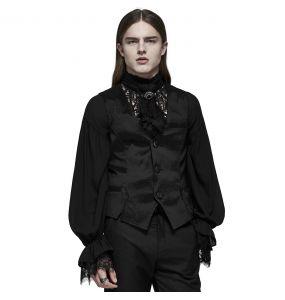 Black 'NightDreamer' Waistcoat
