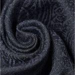 Blue Jacquard 'Hyacinthum Tenebris' Victorian Waistcoat