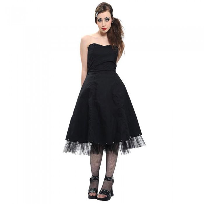 'Are U Ready' Black Dress