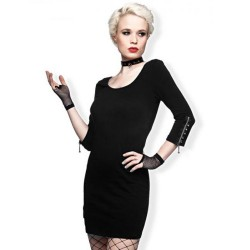 Mini Robe Noire 'Sexy Lady'