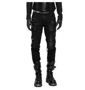Pantalon Decadent 'Black Swamp' Noir