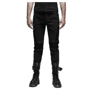 Pantalon 'Terminator' Noir