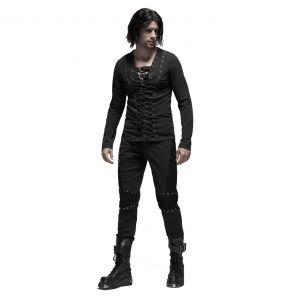Black 'Terminator' Pants