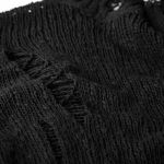'Black Plague' Pullover Sweater