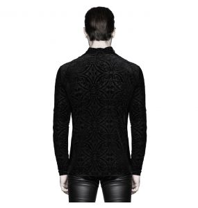 Black Long Sleeves 'Romantic Goth' Sweater