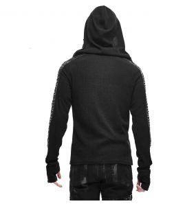 Black 'Altaïr' Hoodie Sweater