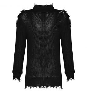Black 'Orkus' Knit Sweater