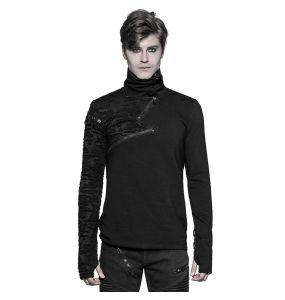 Black Long Sleeves 'Black Plague' Top