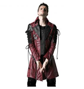 Red and Black 'Poisonblack' Males Jacket