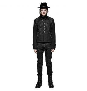 Black 2 in 1 'The Smog' Jacket-Vest