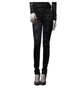 Pantalon 'Damask' Noir
