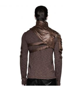 Brown 'Catharsis' Steampunk Shoulder Harness