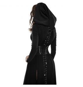 Serre-Taille Gothique 'Bestia' Noir