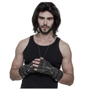 Grey 'Mad Max' Gloves